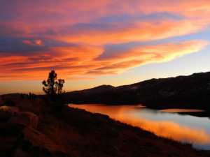 Horsetooth Reservoir Sunset by Mark Wagner